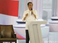 Saat Pamer Perebutan Freeport Jokowi Dibalas Etok-etok Prabowo