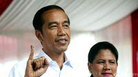 Giliran Jokowi-Iriana Nyoblos