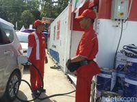 Konsumsi BBM saat Arus Mudik di Tol Jateng Naik hingga 200%