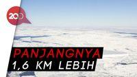 Gunung Es Persegi Panjang Sempurna Ditemukan Di Kutub Selatan