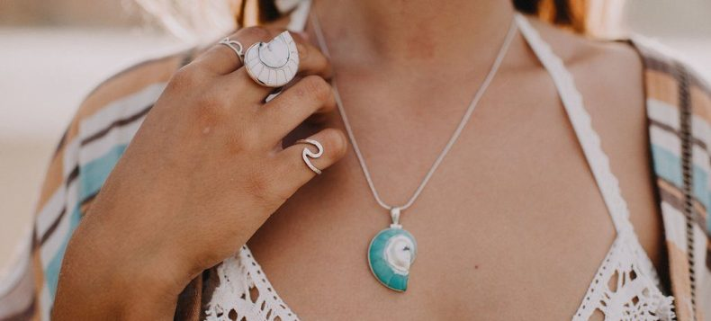 MermaidCollective Ring Pendant