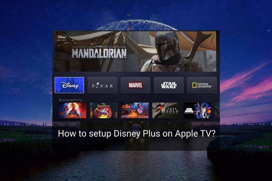 disney plus apple tv