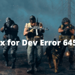 Fix for CoD Modern Warfare – Dev Error 6456