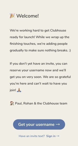 get invite to clubhouse
