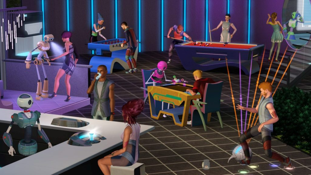 The sims 3 cheats back to the future