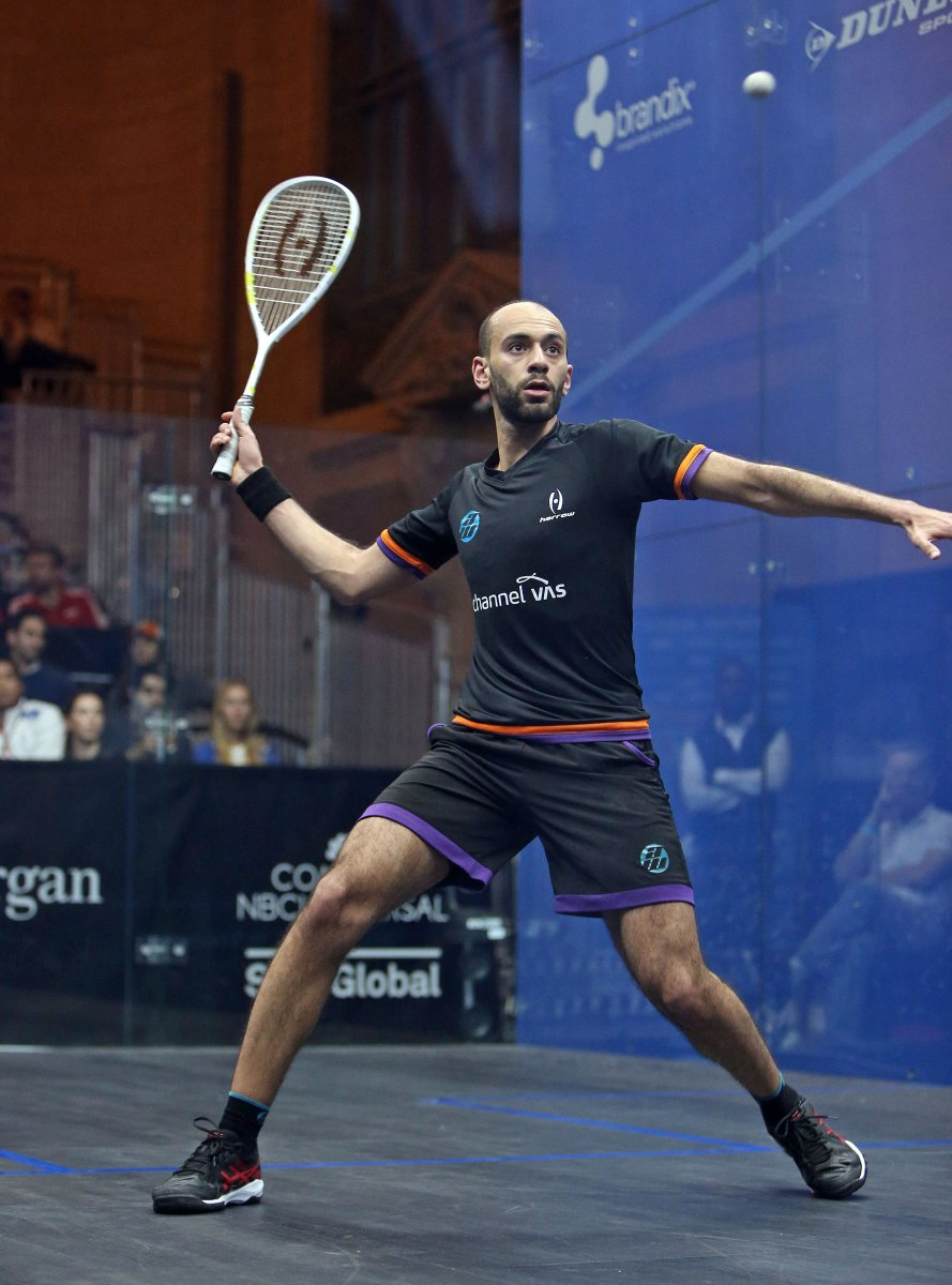 Squash Coaching Blog: Forehand Volley Drop – Slo Mo Video