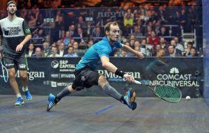 Squash movement - the lunge