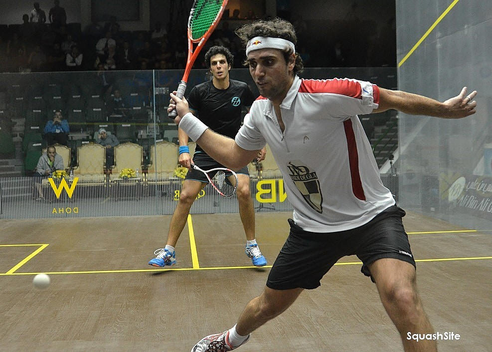 Squash Coaching Blog: Responding to the power drive.