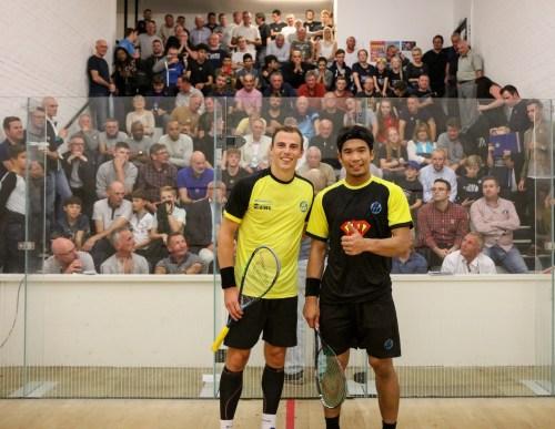 Nick Matthew and Wan Adnan - Squash Exhibition