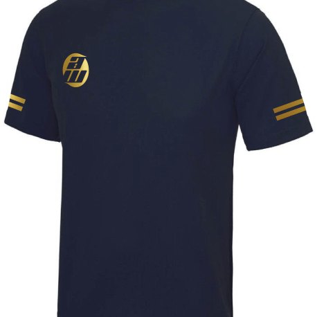 Navy and Gold T-Shirt Front 2