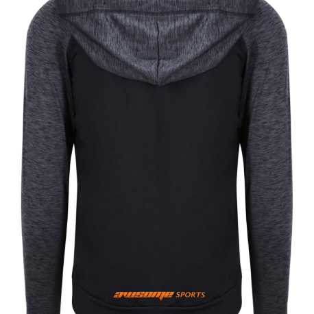 Performance Zoodie Grey Back