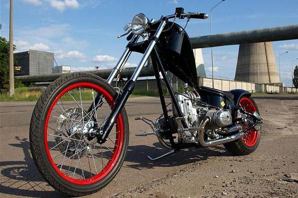 Тюнинг мотоцикла Урал фото