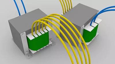 como calcular la corriente de un transformador
