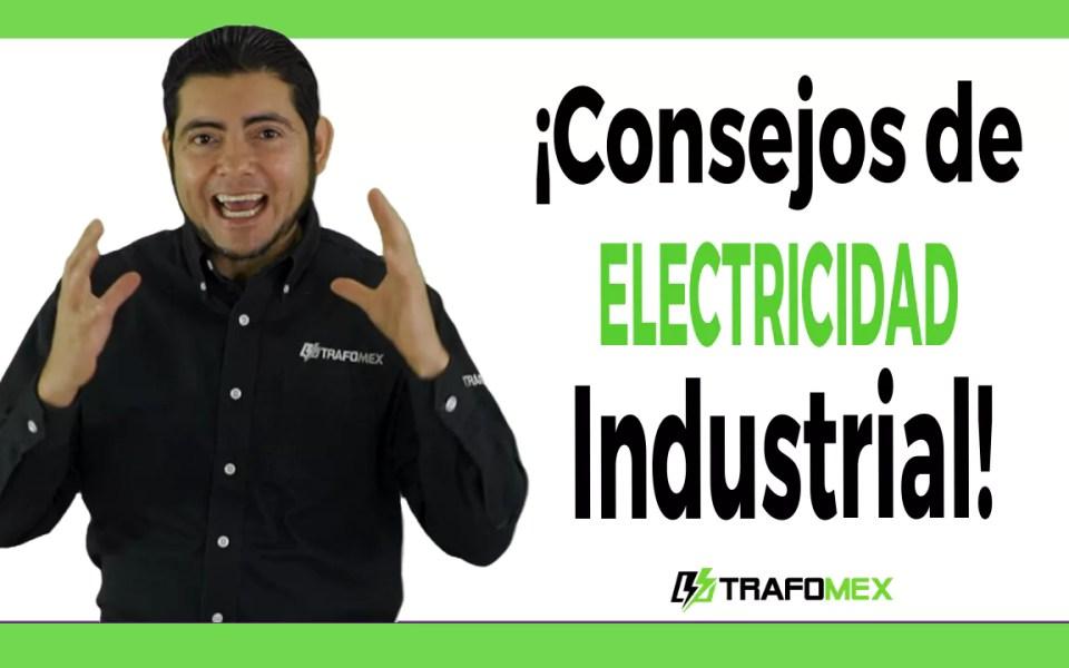 Consejos de electricidad industrial