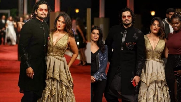 Ali Fazal & Richa Chadha's look for Red Carpet in Egypt | Awutar.com