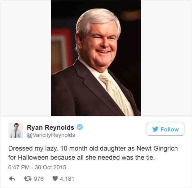 Twitter/Ryan Reynolds