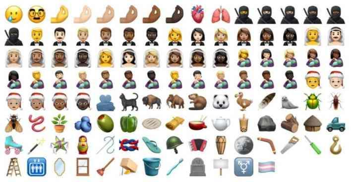 emojis نظام آي أو إس 14.2