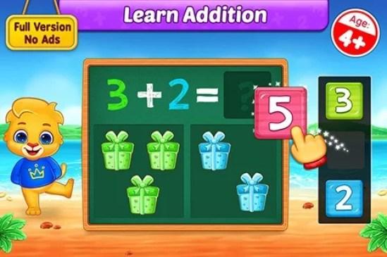 ریاضی kidsscreenshot