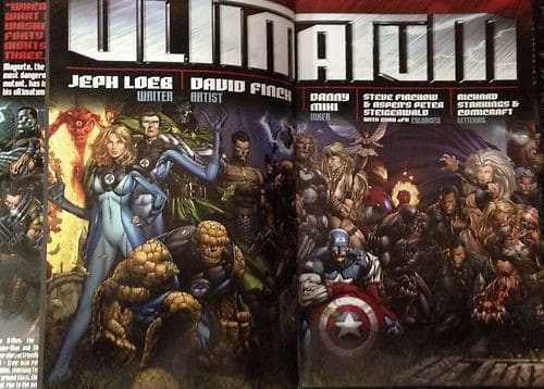 marvel ultimatum jeph loebs graphic
