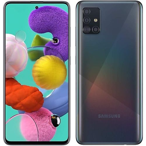 Galaxy A51 - 6.5'' FHD+ - (6GB - 128GB) - Android10.0 - 4G - Camera 48MP - Noir