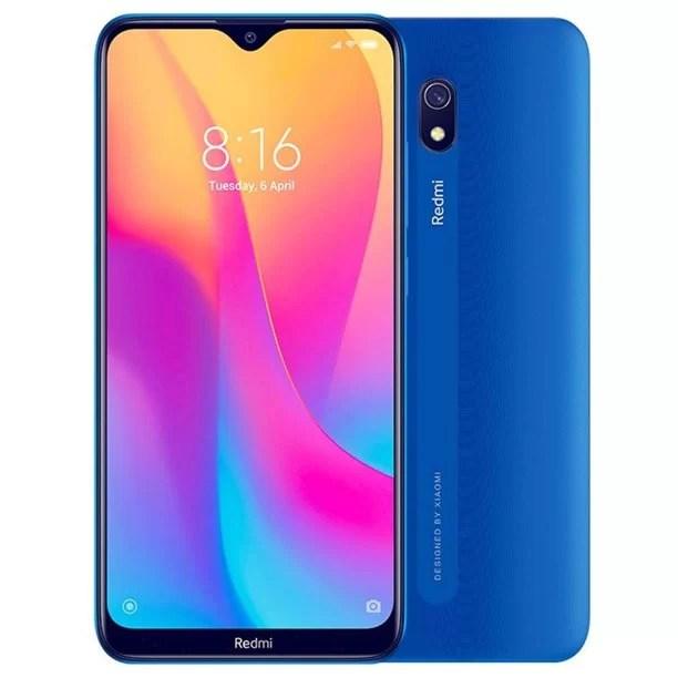 "Xiaomi Redmi 8A (32GB, 2GB RAM) 6.22"" HD Display, Snapdragon 439, Dual SIM GSM Unlocked - US & Global 4G LTE International Version (Ocean Blue)"