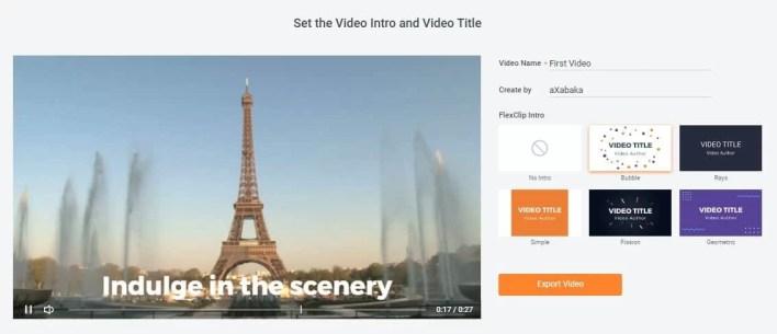 عرض الفيديو مع إمكانية إضافة مقدمة