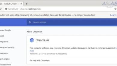 Chrome will stop working on computers with older processors
