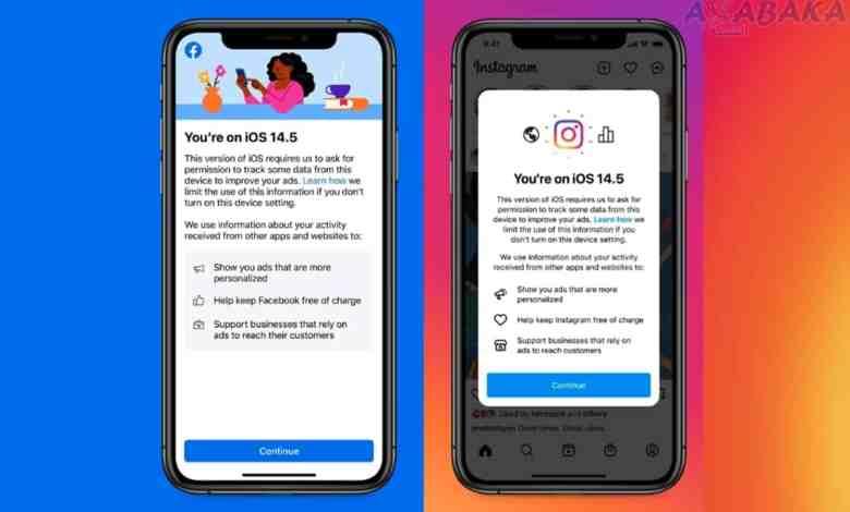 فیس بوک iOS 14.5