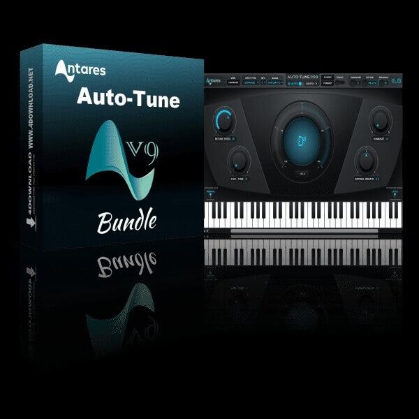 Antares AutoTune Pro 9.1.1 Crack + License Code : AxCrack