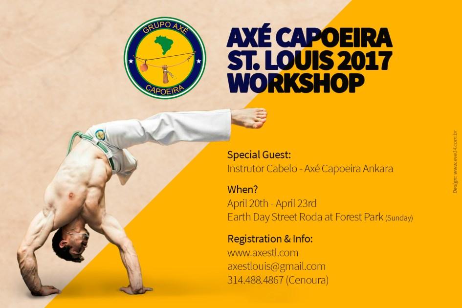 St. Louis Capoeira Workshop 2017