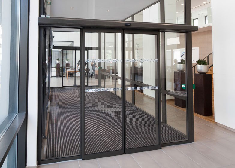 AXED Portes Automatiques Porte Coulissante Circulation