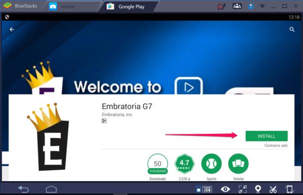 Embratoria G7 for PC Windows & mac