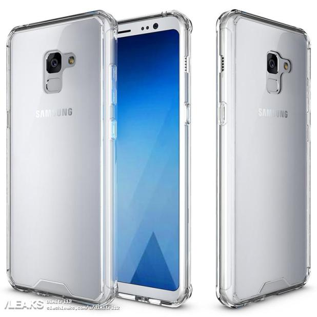 Galaxy A5 (2018) images leaked