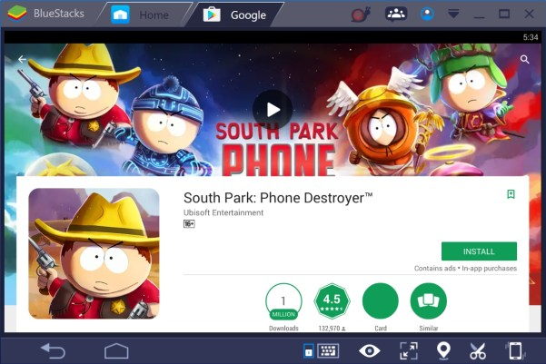 South Park Phone Destroyer for PC for Windows 10