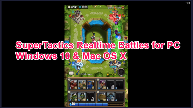 SuperTactics Realtime Battles for PC Windows 10 & Mac
