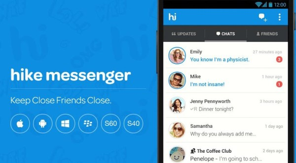 Hike Messenger for PC Windows 10