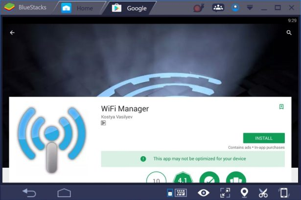 WiFi Manager for PC Windows 10