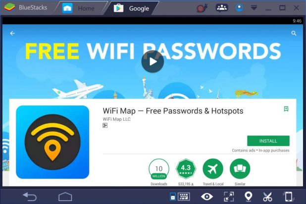 WiFi Map Free Passwords & Hotspots for PC Windows 10