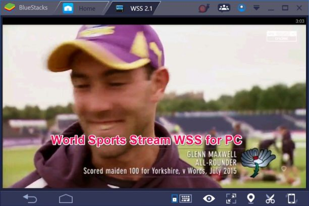World Sports Stream WSS for PC Windows 10