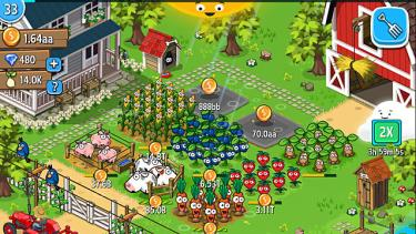 Idle Farming Empire Gameplay