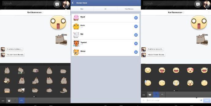 chat stickers, Facebook Messenger sticker, Facebook stickers, Facebook emoticons, Facebook messenger emoticons, activate facebook emoticons