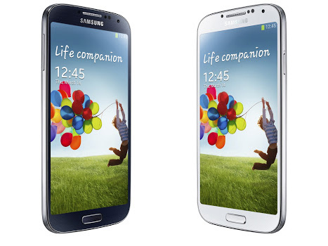 Galaxy S4 front
