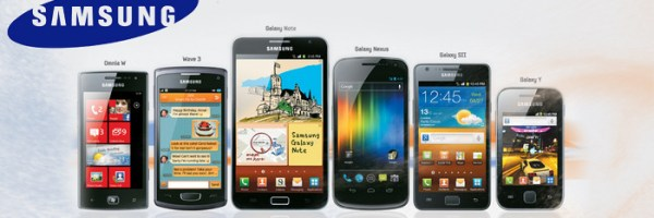Different samsung banners
