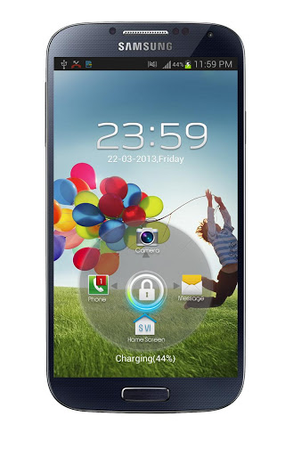 Download Samsung Galaxy S4 Lockscreen | AxeeTech