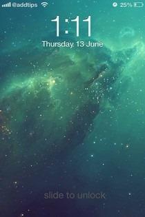 iOS-7-Lockscreen-Theme