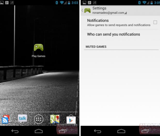 Google Play Games, Google Play UI, Google Play games UI