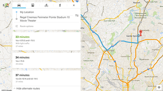 Google map 7, Gmaps 7.0, Google maps 7.0