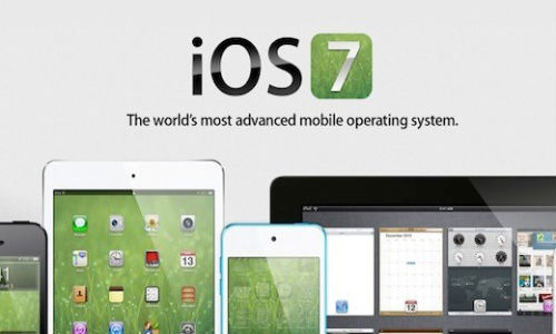iOS 7 update for Apple's devices