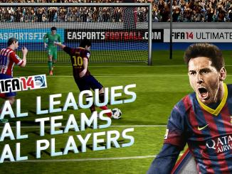 Download FiFa 14 on your iOS and Android