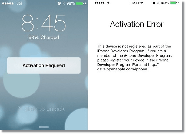 Activation-Required